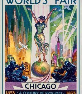 Chicago World's Fair Vintage Poster