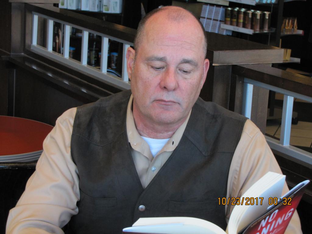 Best Selling Author PG Barnett reading in Barnes and Noble #2