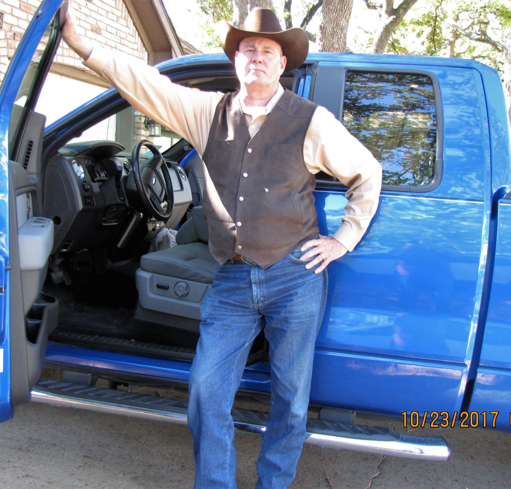 Best Selling Author PG Barnett with his trusty Ford F150 Pick Up Truck Part Four