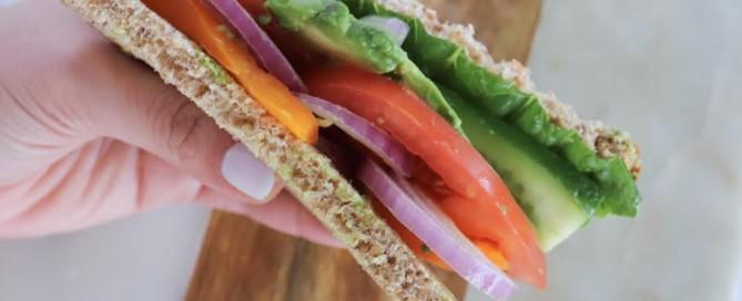 Veggie Sandwich the modern day girlfriend