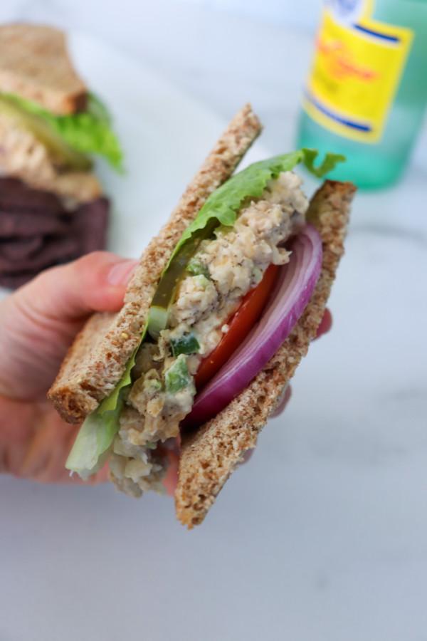 How To Make A Vegan Tuna Sandwich