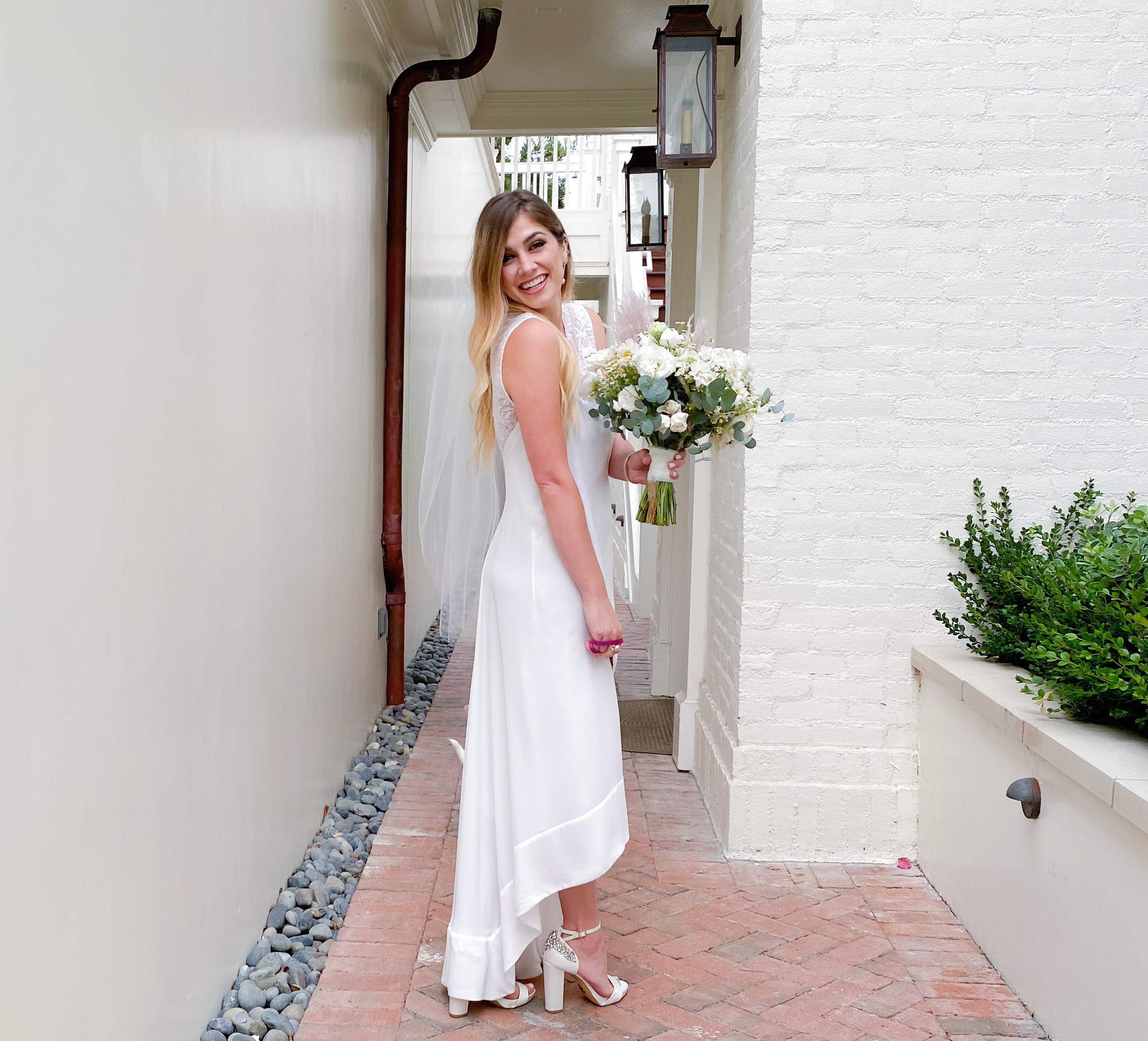 affordable elopement dress the modern day girlfriend