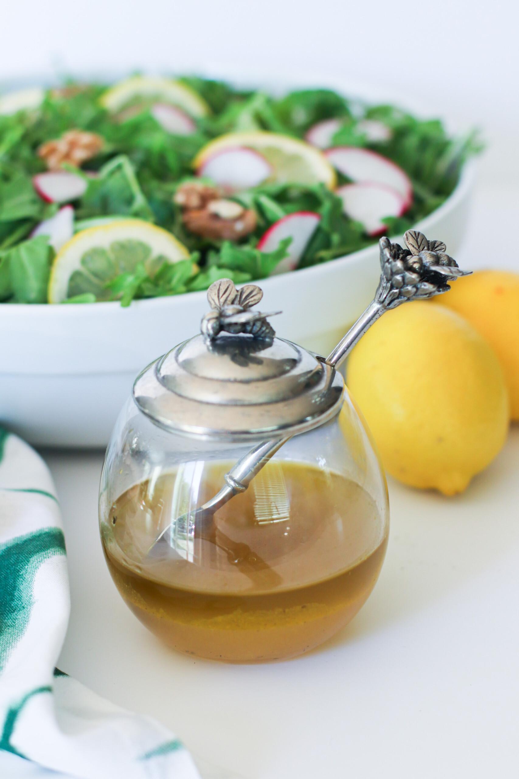 Turmeric Honey Lemon Dressing the modern day girlfriend