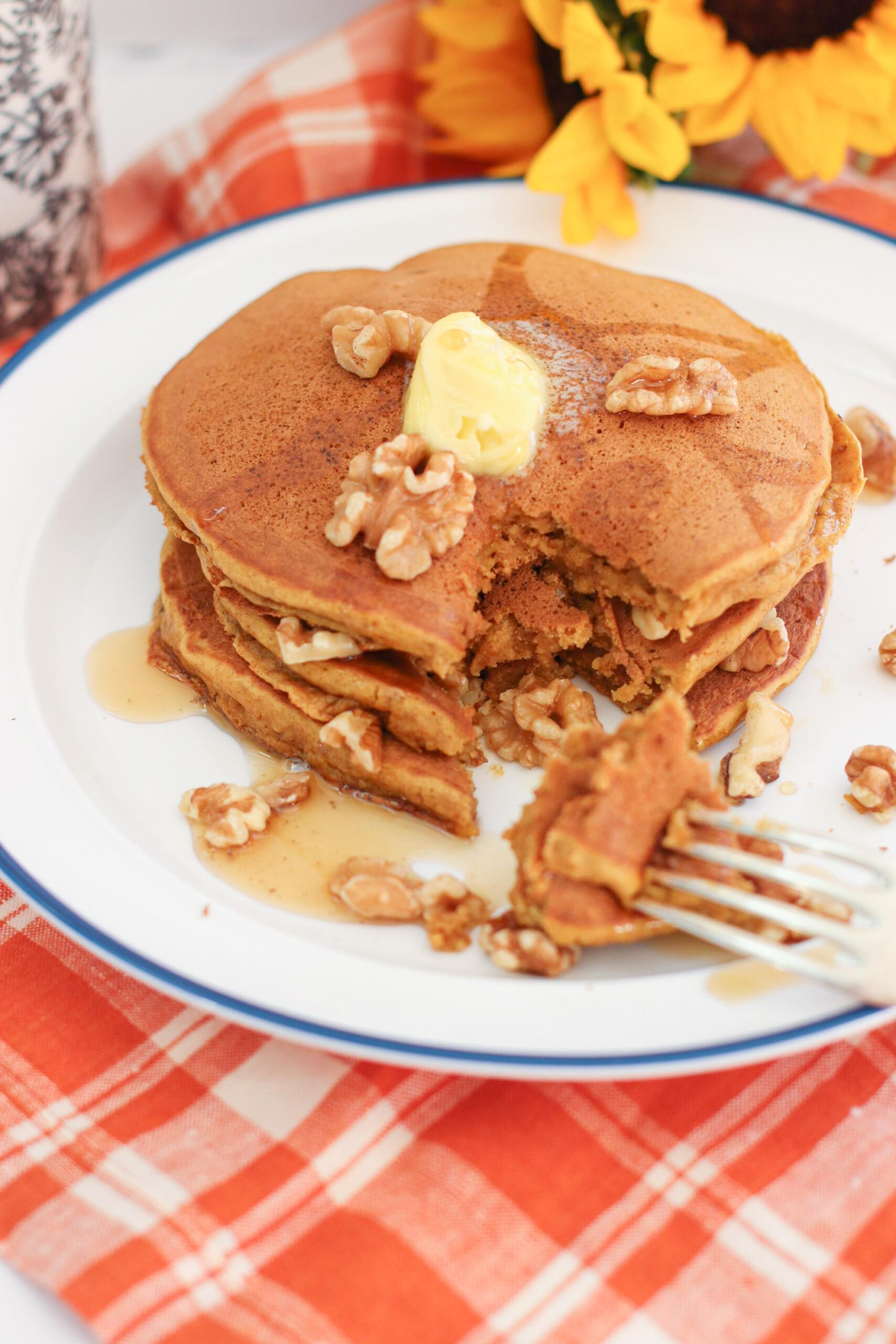 pumpkin pancakes the modern day girlfriend 1