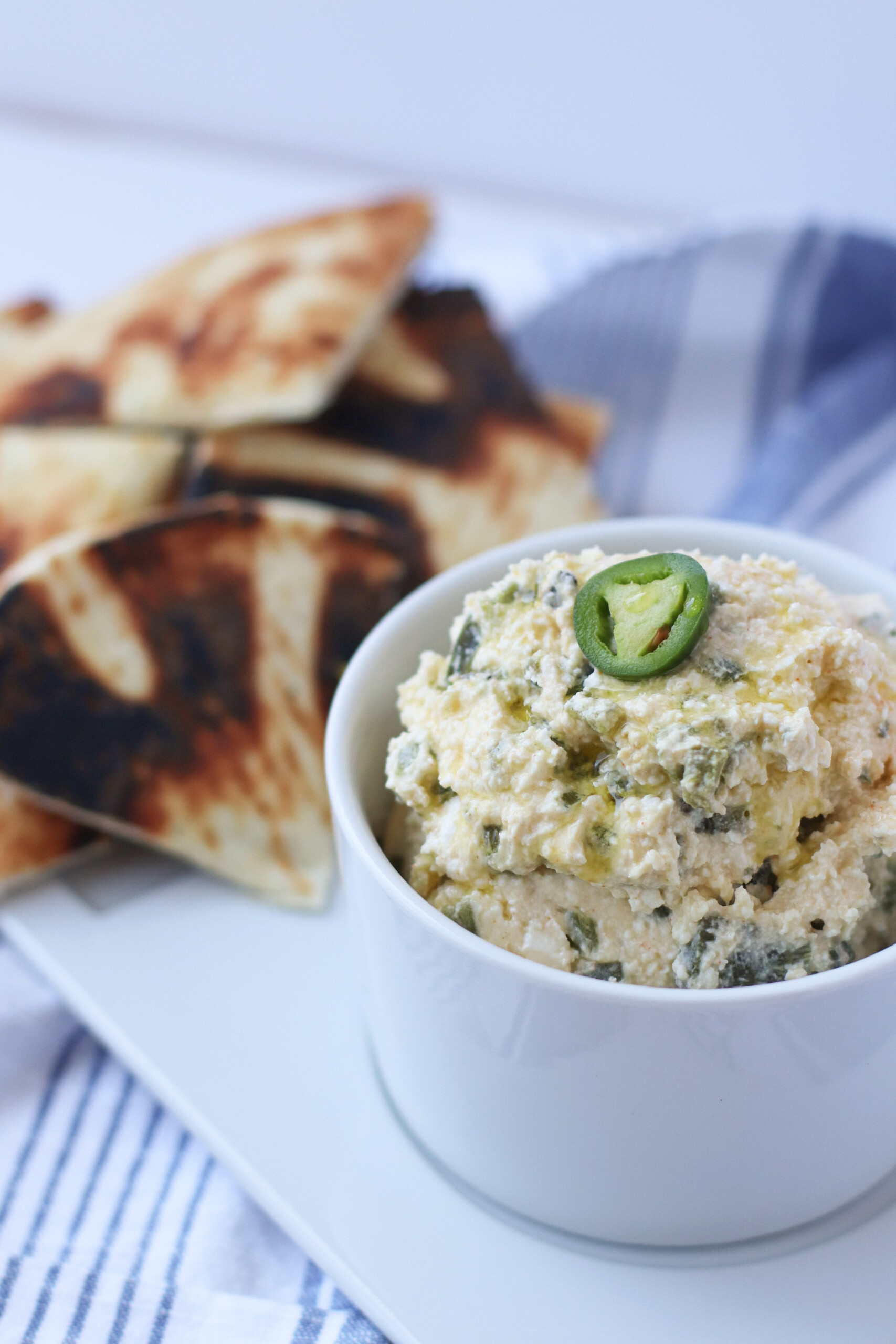 Whipped Spicy Feta Dip. the modern day girlfriend