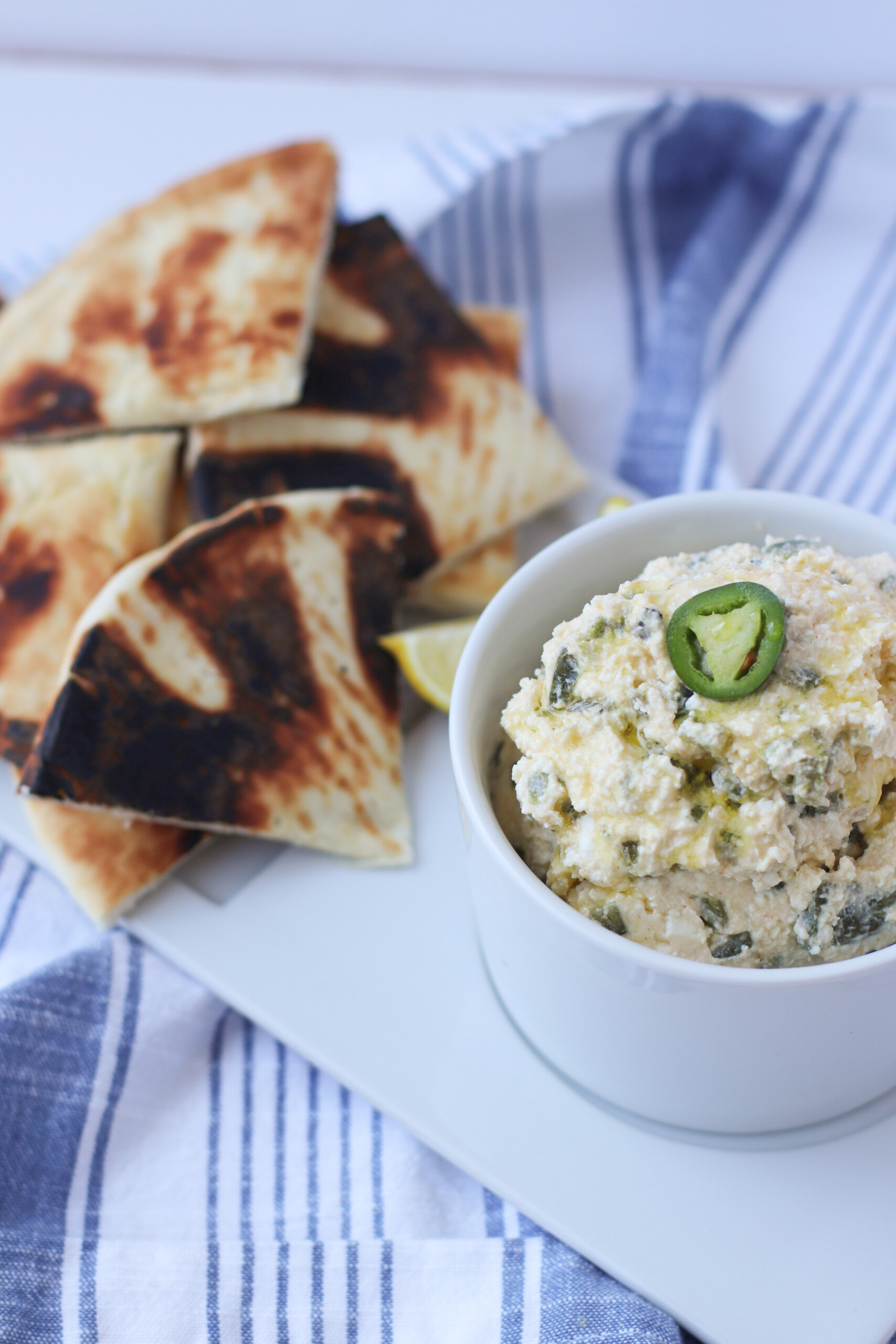 Whipped Spicy Feta Dip. the modern day girlfriend 2