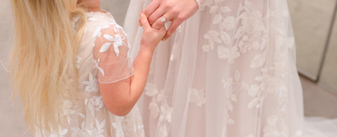 How To Shop The Perfect Flower Girl Dress With David's Bridal