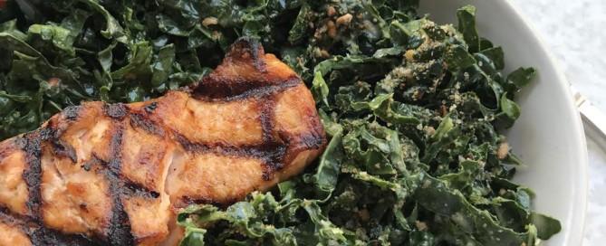 vegan kale caesar salad the modern day girlfriend