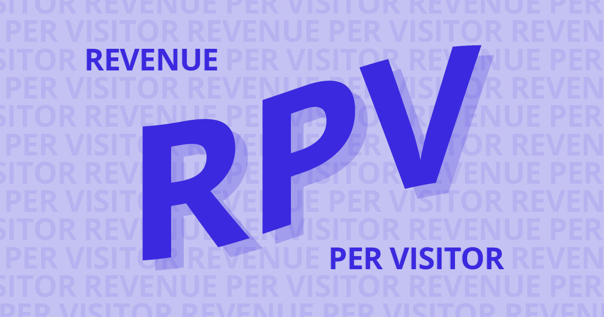RPV ecommerce most important kpi