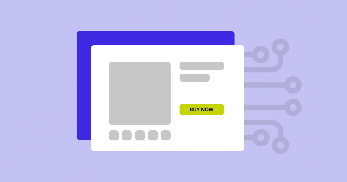 Illustration of machine learning and eCommerce
