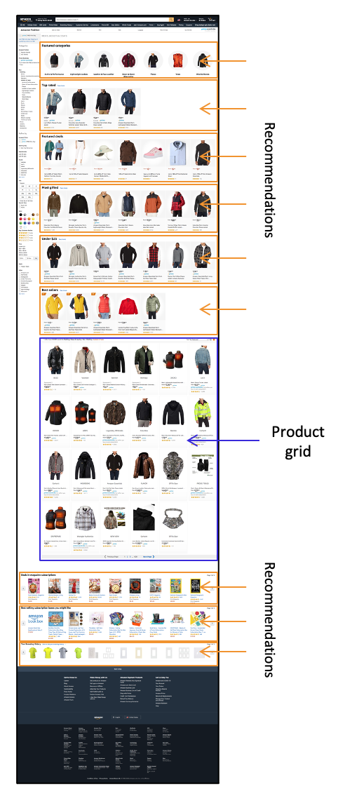 amazon-product-collection-page