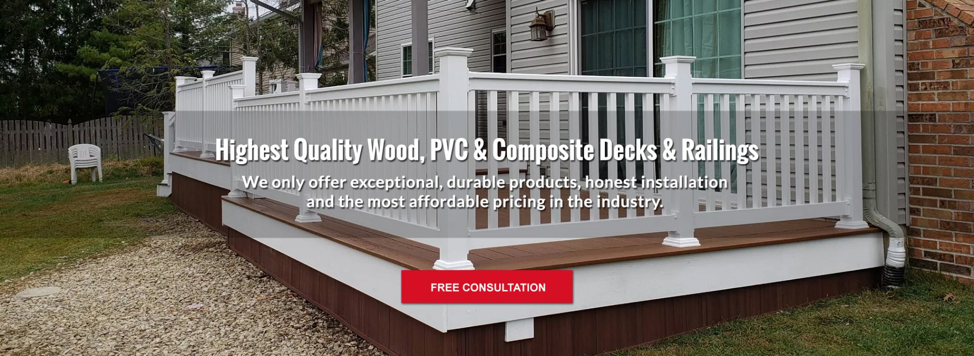 High Quality Deck and Railings
