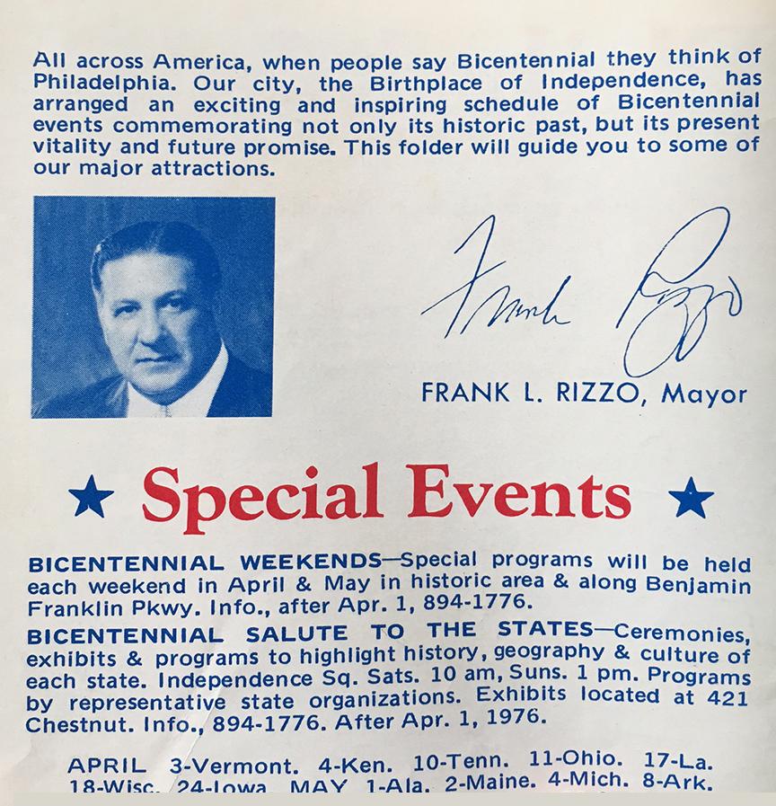Philadelphia Bicentennial 1976