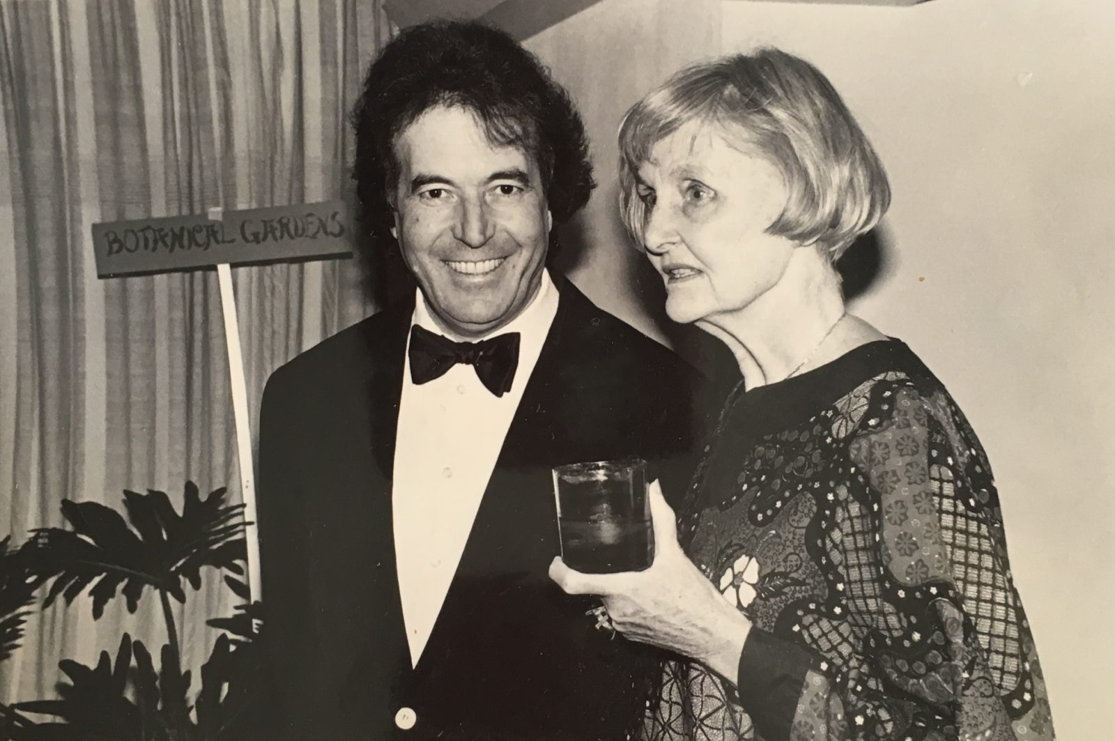Nancy Grace Brewer with Remo Saracei in 1978