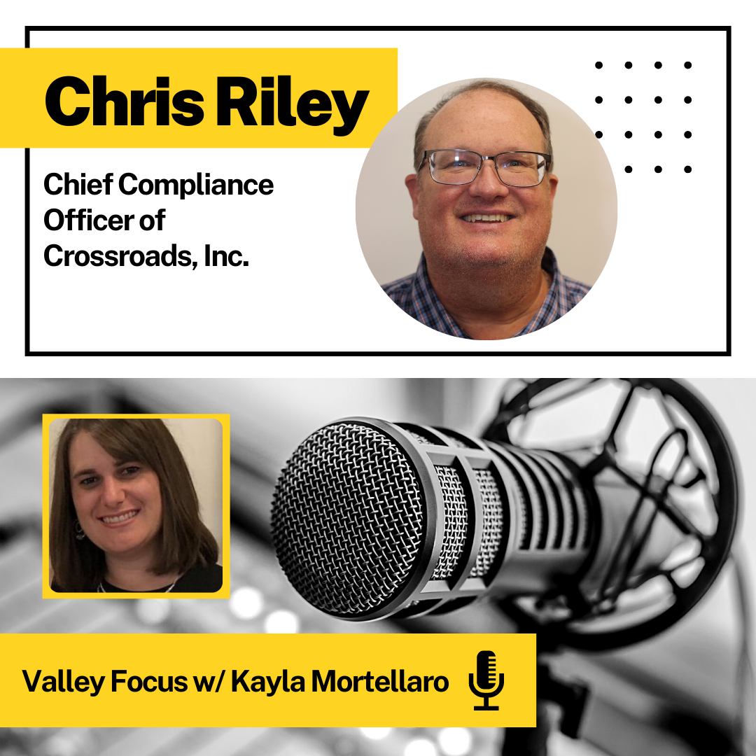 Chris Riley, CCO of Crossroads Interviewed On Valley Radio Show