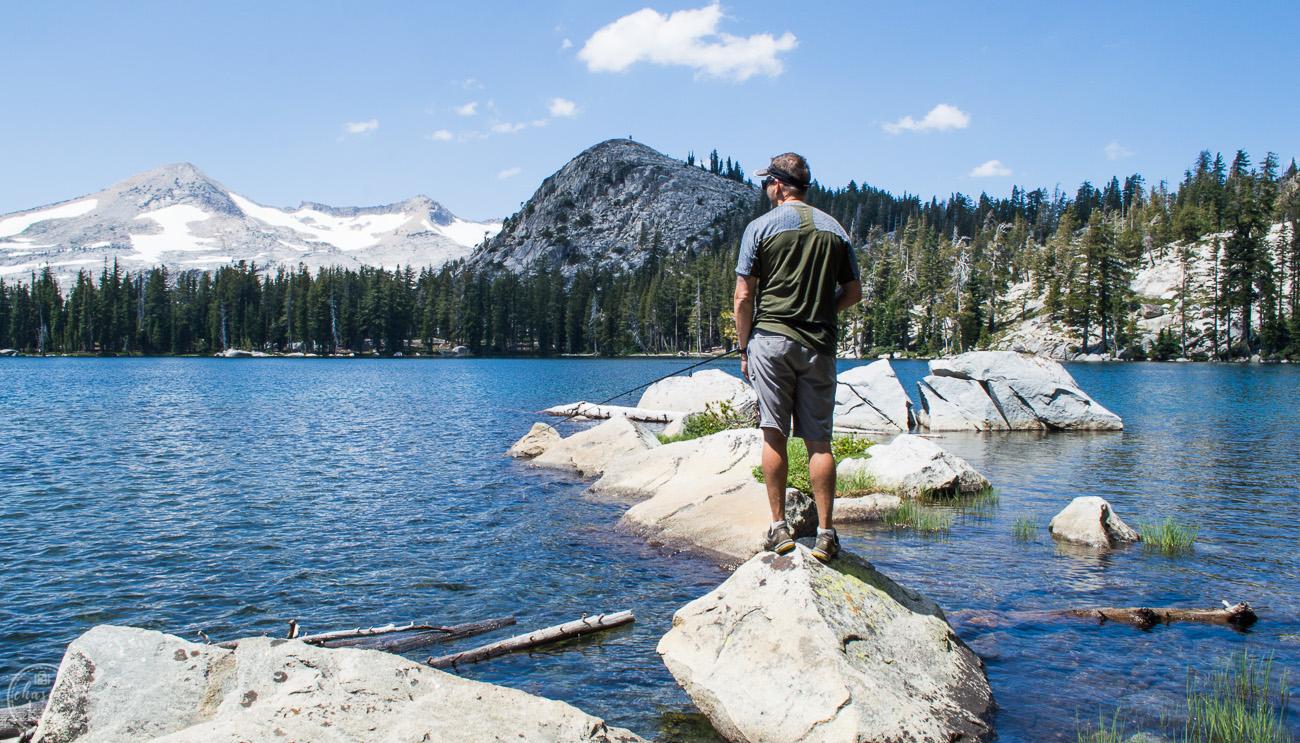 bank fishing, south lake tahoe, tahoe, lake of the woods