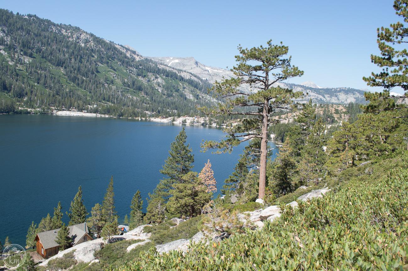 hike in south lake tahoe, echo lake