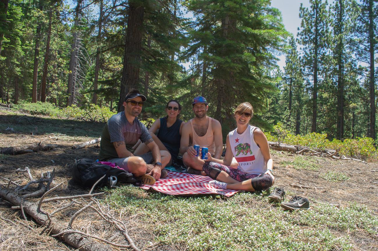 hike in south lake tahoe, powerline trail