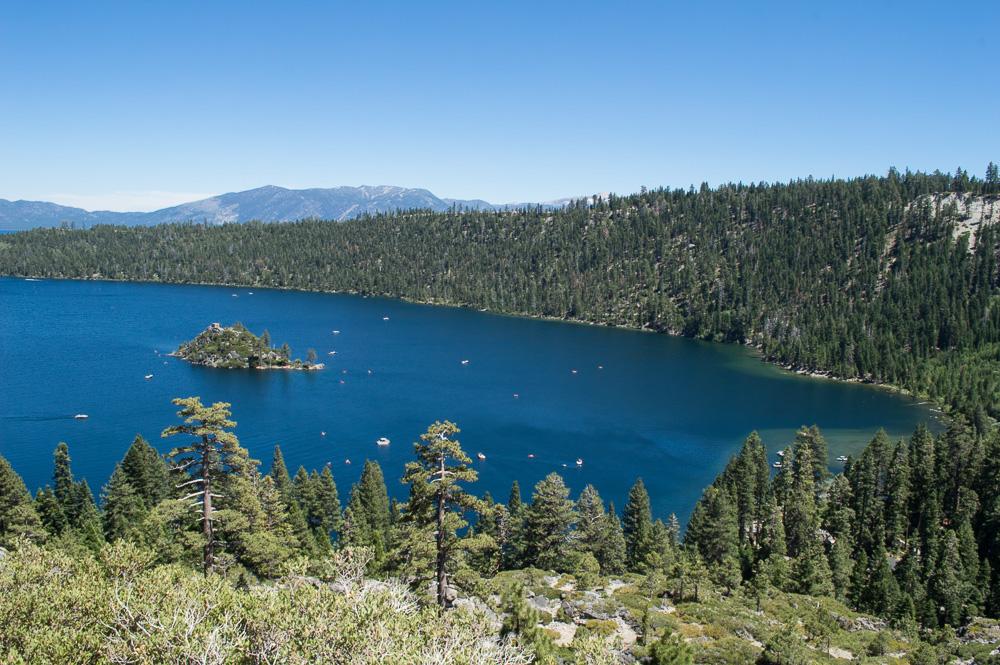 hike in south lake tahoe, emerald bay