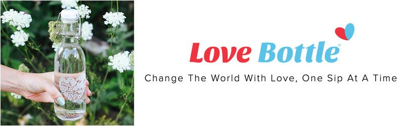 Love Bottle Banner