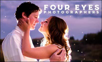 Four Eyes Photographers Brochure Logo