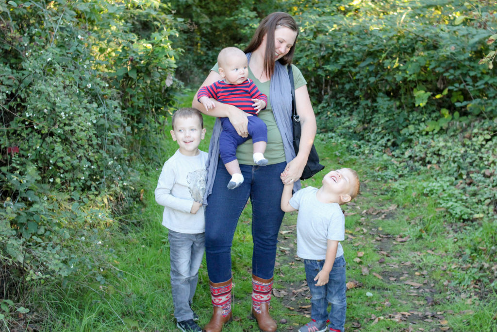 Becoming a mom of three. Third time mom. Tried and true mom tips. Large family tips