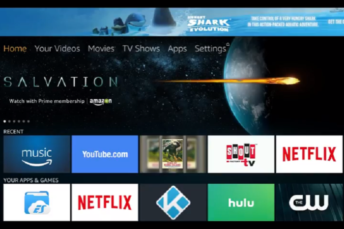 Amazon Fire TV Losing Firefox Browser