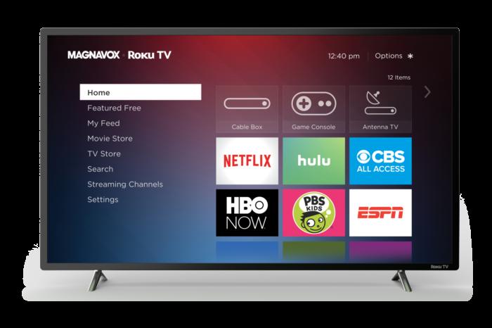 Magnavox and Roku Launch TV