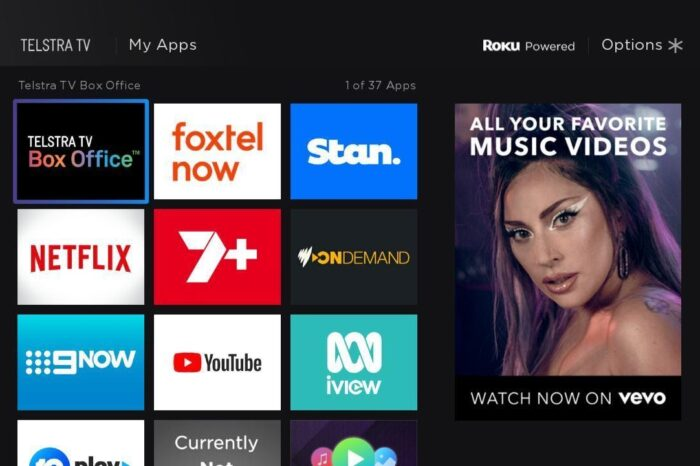 Vevo In Partnership With Telstra TV