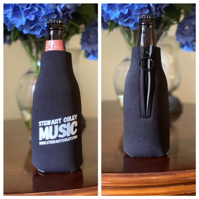 Zippered Bottle Koozie