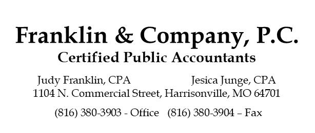 Franklin & Company, P.C. Certified Public Accountants