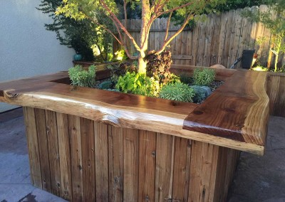 Custom Tree Planter and Renovation by Lawn & Order