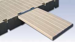 polyethylene gangway plank