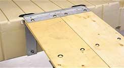 wooden gangplank mounting kit