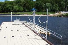 Commercial applicaton - marinas - EZ Launch and kayak racks