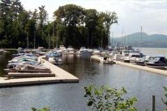 Commercial applicaton - marinas - a large marina configured with EZ Docks
