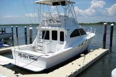 Floating Dock Systems - Configured for a large boat.
