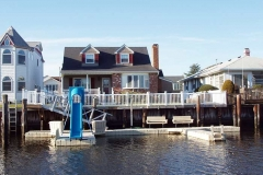 Floating Dock Systems - The EZ Dock sliding board, one of our most popular accessories