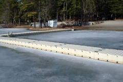 EZ Docks pop to the top of the ice.