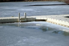 Save time and money by NOT removing your docks each winter.