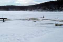Snow or ice are no problem for EZ Docks.