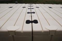 pocket fillers installed on an EZ Dock