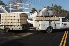 Picture of picking hauling docks for an installation.