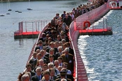 EZ Dock walkway supports hundreds of VineXpo attendees