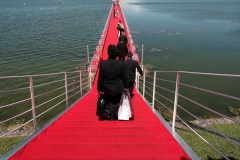 Adding a red carpet to the EZ Dock walkway