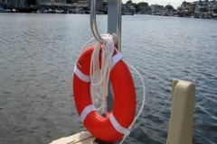 picture of rescue ring stand