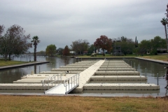 Boat slips can be created for docking boats - easy to add additional slips,