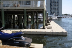 Join EZ Dock with wood docks and the coupler system of EZ Dock your imagination is your limitation. Another example of versatile modular design.