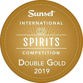 Sunset International Spirits Competition Double Gold Award 2019