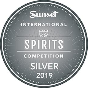 Sunset International Spirits Competition Silver Award 2019